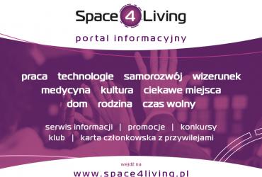 Zapraszamy do lektury i wsółpracy z portalem Space4Living!